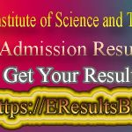 MIST Admission Test Result 2021