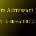 Masters Admission Result