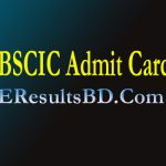 BSCIC Job Exam Date And Admit Card Download 2021