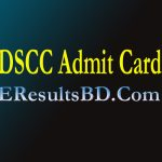 Dhaka South City Corporation DSCC Job Exam Date And Admit Card Download 2021